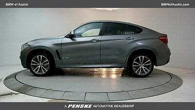 2017 BMW X6 sDrive35i Sports Activity sDrive35i Sports Activity New 4 dr Automatic Gasoline 3.0L STRAIGHT 6 Cyl Space