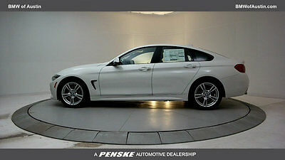 2018 BMW 4-Series 440i Gran Coupe 440i Gran Coupe 4 Series New 4 dr Gasoline 3.0L STRAIGHT 6 Cyl Alpine White