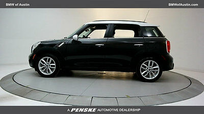 2014 Mini Countryman S Hatchback 4-Door 4 dr SUV Gasoline 1.6L 4 Cyl Absolute Black Metallic