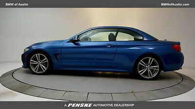 2014 BMW 4-Series 435i 435i 4 Series 2 dr Convertible Automatic Gasoline 3.0L STRAIGHT 6 Cyl Estoril Bl