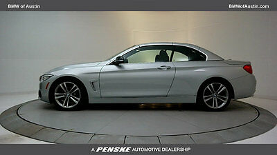 2014 BMW 4-Series 428i 428i 4 Series Low Miles 2 dr Convertible Automatic Gasoline 2.0L 4 Cyl Glacier S