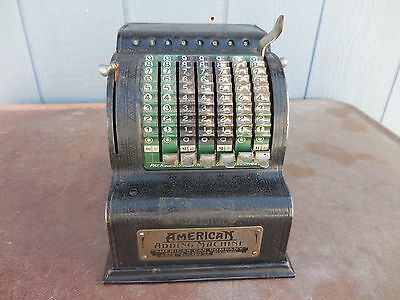 Antique American Adding Machine Model 5 Patent Date 1912