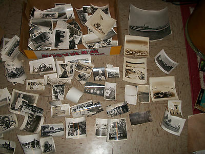 World War 2 Photo Collection USN Navy Seabees 56th Construction Guam B-29s more