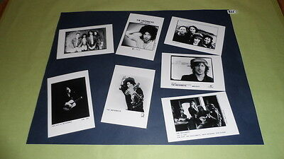 "The Waterboys Set of 6""x4""Inch Photos X7 Collectable Pop Memorabilia Prints J335"