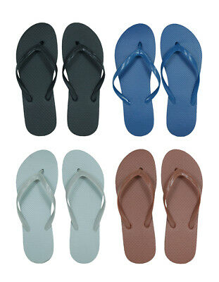 Lot of 96 Pairs Wholesale Men's Solid Color Flip Flops Sandals Flip Flop