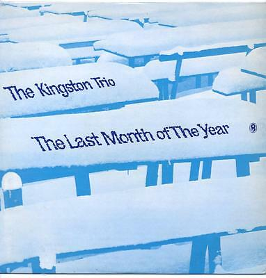 "Kingston Trio - The Last Month Of The Year - 12"" Vinyl Lp"