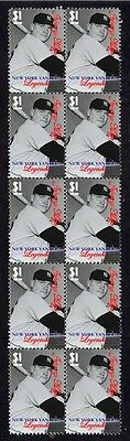 New York Yankees Legends Baseball Stamps, Johnny Mize