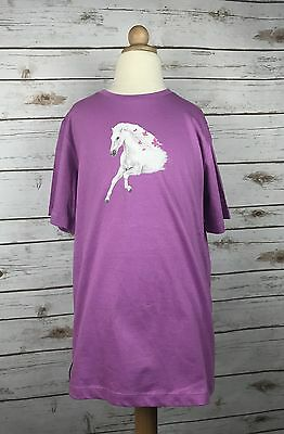 Horze Jr. Jalie Tee in Lavender - Children's 11-12 yr.