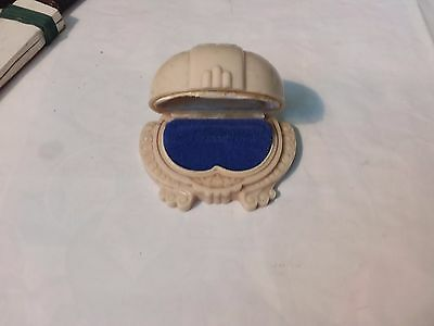 Vintage Plastic Ring Box