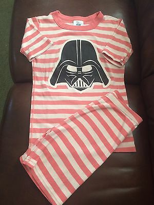 Star Wars Darth Vader Hanna Andersson Pink Cotton Pajamas 150CM