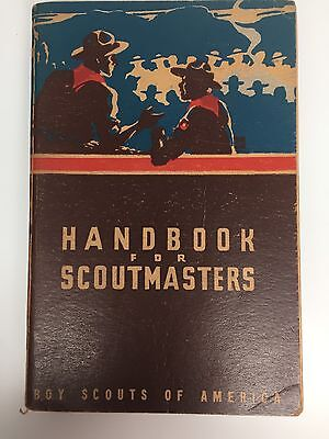 Boy Scouts Handbook For Scoutmaster's 1947 Edition