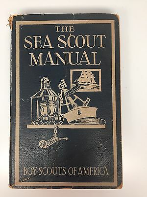 Boy Scout Sea Scout Manual From 1939