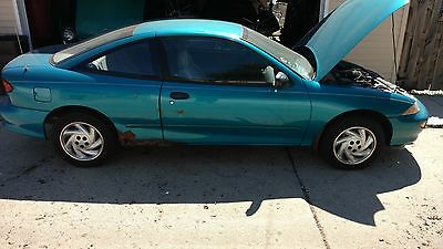 1996 Chevrolet Cavalier Coupe 1996 used Chevrolet Cavalier Coupe, running new tires .