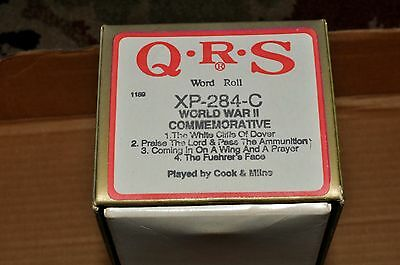 QRS PLAYER ROLL:XP-284-C WWII Comm.