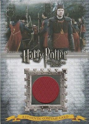 HARRY POTTER Half-Blood Prince RON WEASLEY'S Costume Trading Card C3 - #206/380