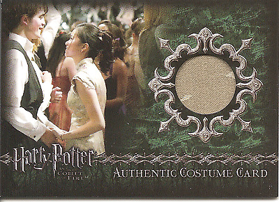 HARRY POTTER Goblet of Fire Cho Chan's Yule Ball Costume Card C2 - #163/700