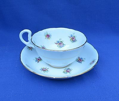 Royal Grafton China Vintage Tea Cup & Saucer - small Rose Bouquets
