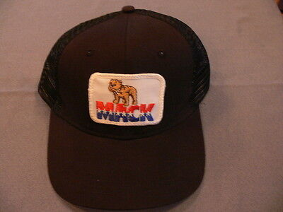 Embroidered patch ball cap hat baseball MACK TRUCK Trucking vintage USA Canada