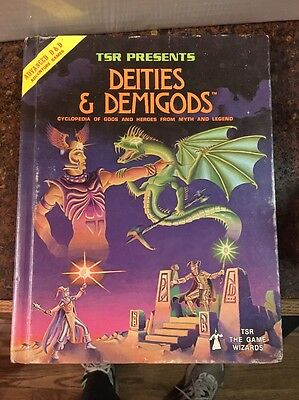 AD&D 1st Deities & Demigods w/Cthulhu Advanced Dungeons & Dragons 1e CYCLOPDIA