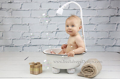 Bathtub  baby photography newborn vintage prop bath tub newborn