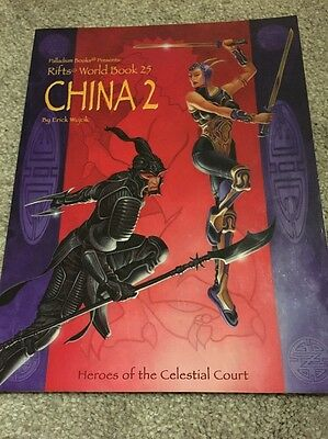 RIFTS RPG: China 2 Heroes of the Celestial Court Palladium Books