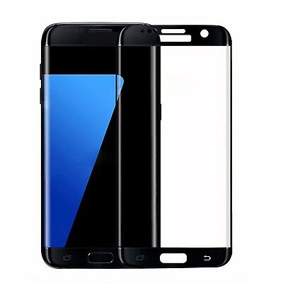 Temper Glass Screen Protector Full Cover For Samsung Galaxy S7 Edge Black Hot BN