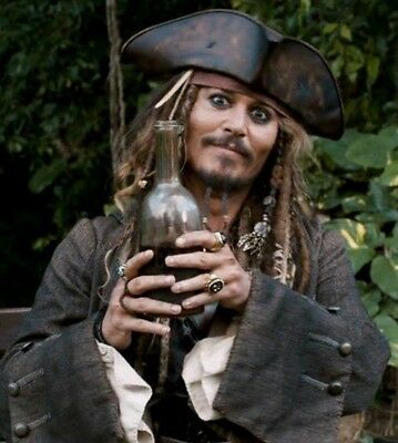Johnny Depp Jack Sparrow Pirates Of The Caribbean Bottle Of Rum