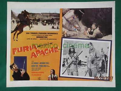 Lex Barker Last Of The Renegades Winnetou -2 Teil Western Mexican Lobby Card 7