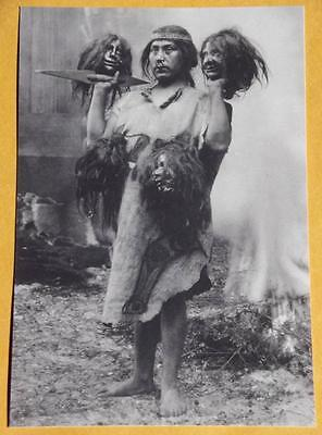 Witch Doctor Death Ritual VINTAGE PHOTO Spell Spooky Weird Odd Creepy Freaky P41