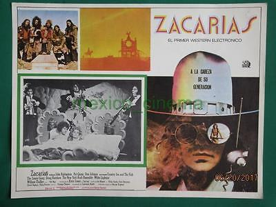 Zachariah John Rubinstein Country Joe And The Fish Spanish Mexican Lobby Card 3