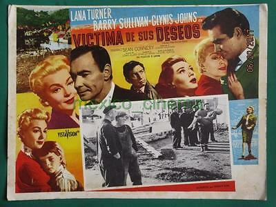 Lana Turner Another Time Another Place Sean Connery Spanish Mexican Lobby Card 7