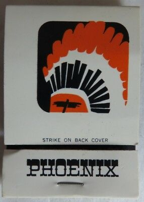 Vintage Playboy Club Phoenix Matchbook Cover          (Inv13620)