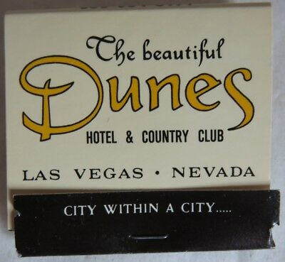 Vintage Dunes Hotel And Country Club Matchbook             (Inv13633)