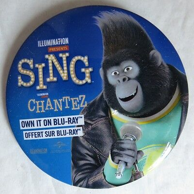 Promotional Sing Movie Pin Pinback Button                  (Inv13590)