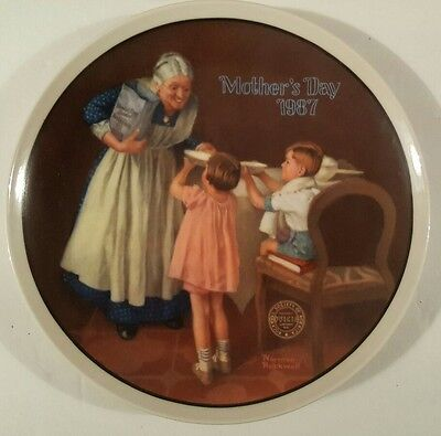 """Norman Rockwell """"Grandma's Surprise"""" Only Limited Edition"""