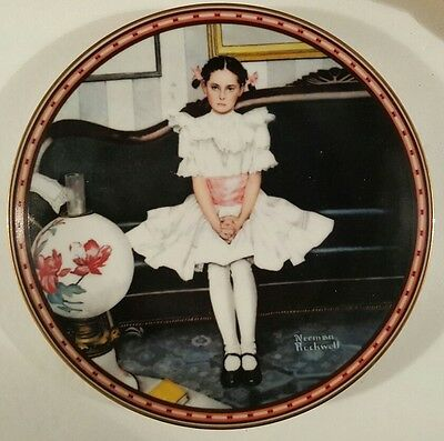 """Norman Rockwell """"Sitting Pretty?"""" Limited Edition"""