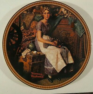 """Norman Rockwell """"Dreaming In The Attic"""" Only Limited Edition"""