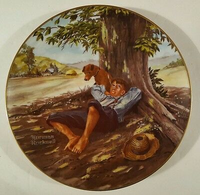 """Norman Rockwell """"Spring Fever"""" Strictly Limited to 60 day Firing Period"""