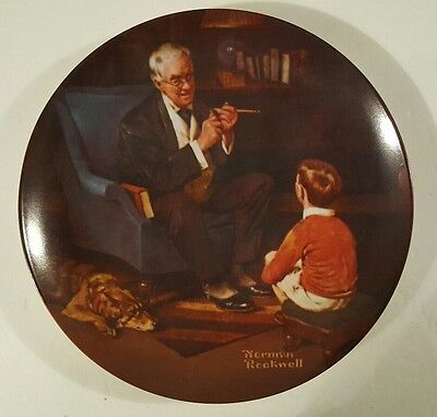 """Norman Rockwell """"The Tycoon"""""""