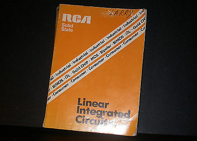 RCA Linear Integrated Circuits Databook Data Book 1978