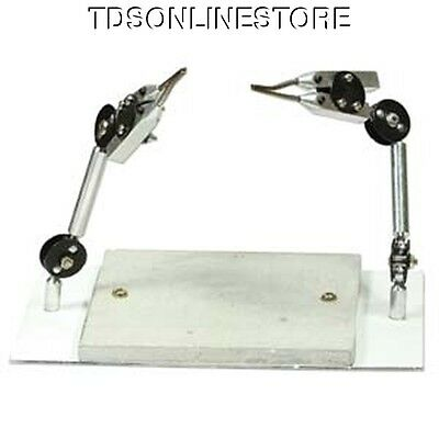 Dual Third Hand Soldering Station With Soldering Board