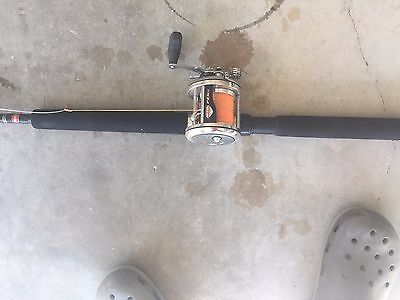 Penn 220 Real and Rod Combo - 6ft Rod - used but in good condition