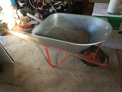 Full sized Daytec builder's wheelbarrow in excellent condition.