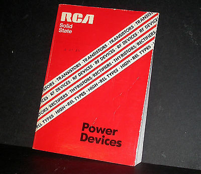 RCA Power Devices Databook Data Book 1978