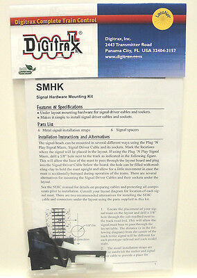Lot of 2 packages (12 total) - Digitrax SMHK Signal Mounting Hardware Kit