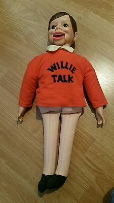 Vintage Willie Talk Doll