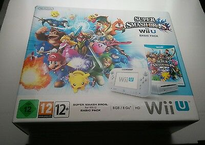 Pack Nintendo Wii U + Super Smash Bros