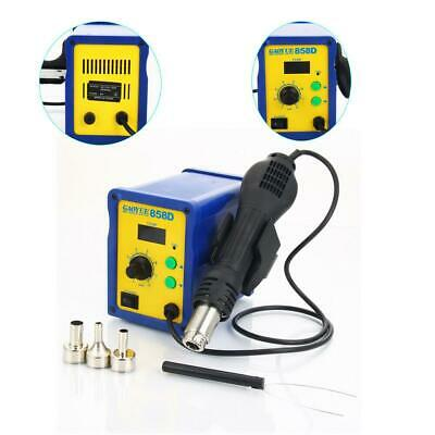 858D 110V 700W Electric Hot Air Heat Gun Soldering Station Desoldering Tool Kit