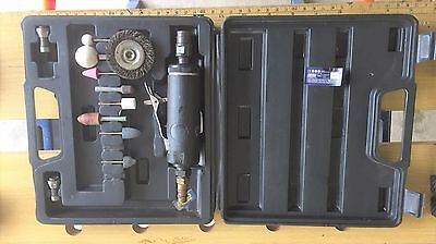 Power Craft Air Die Grinder With Carry Case And Accessories