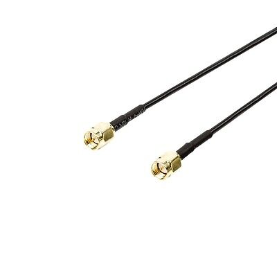 1m SMA male to male connection cable VGSP02000B10 Valueline